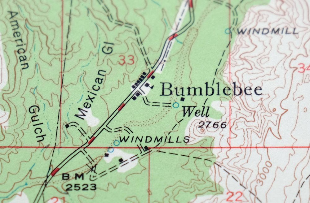 Details about Bumblebee Arizona Vintage USGS Topo Map 1947 Black Canyon on dcnr maps, topographic maps, digitalglobe maps, dnr maps, google maps, science maps, esri maps, delorme maps, geological survey maps, microsoft maps, geology maps, twra maps, ascs maps, noaa maps, bucks county pa township maps, cornell university maps, cia maps, osm maps, unosat maps, usc maps,